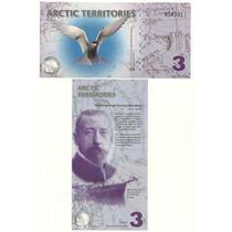 Golondrina Del Artico Billete 3 Dolares (2011)