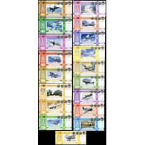 +18 Billetes, Colección Completa Rusos, Polimero. 1936 -2012