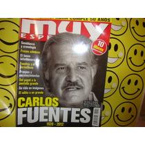 Carlos Fuentes Muy Interesante Especial Revista