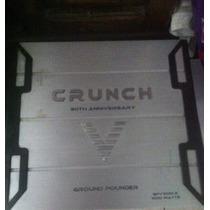 Aplificador Crunch 30th Anniversary Ground Pounder Gpv1000.2