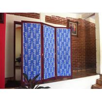 Biombo 3 Paneles Envio Gratis $1899