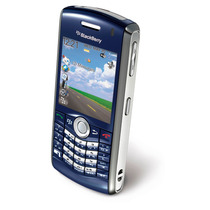 Celular Marca Blackberry Modelo 8120 Color Azul + Regalo