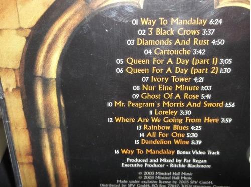 Cartouche Ritchie Blackmore Free Internet Radio