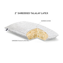 Almohada Malouf 100% Natural Shredded Talalay Latex