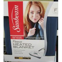 Cobertor Eléctrico Sunbeam Cama Matrimonial Lavable Maquina