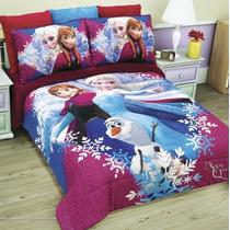 Cobertor Matrimonial Hd Frozen