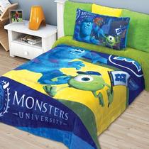 Cobertor Matrimonial Providencia Monster Inc Borrega