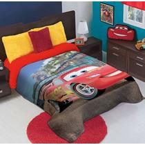Cobertor Ligero Matrimonial Cars Hd Providencia