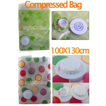 Space Bag Comprimir Ropa 100x130cm Bolsa Vacio -colcha No-
