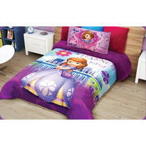 Cobertor Borrega Providencia Disney Princesas Matrimonial