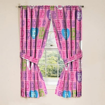 Cortinas Recamara One Direction Importado Original Hm4