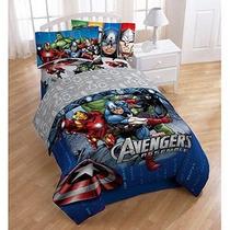 Edredon Avengers Cama Individual Y Matrimonial