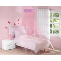 Pabellon Decorativo Bombon Rosa Para Niñas Anti Mosquitos