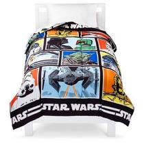 Edredón Cama Individual De Star Wars Disney Nuevo Importado