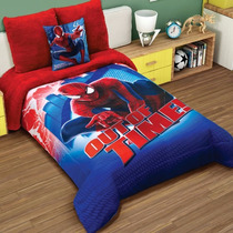 Cobertor Individual Providencia Spiderman Ultimate Borrega