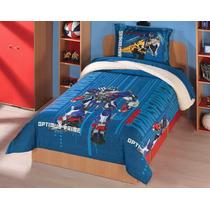Edredon Con Borrega Individual Transformers 4 Concord