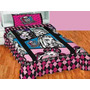 Colcha Monster High Individual Marca Concord