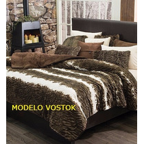 Cobertor Everest Modelo Vostok Vianney Qs / Ks
