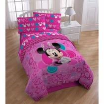 Juego De Cama Individual Disney Minnie Mouse