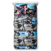 Set De Edredón Y Sábanas Individuales Batman Vs Superman