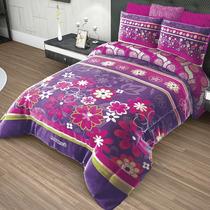 Cobertor Matrimonial Providencia Cozumel Reverso Borrega