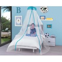 Pabellon Decorativo Azul Principe Para Niños Anti Mosquitos