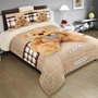 Cobertor Matrimonial Providencia Hd Teddy Reverso Borrega