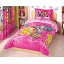 Juegos De Edredón Mi Dulce Virgen, Barbie Flores, Sp0