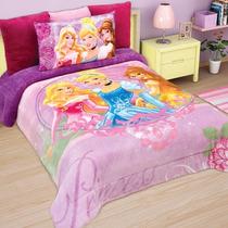 Cobertor Matrimonial Providencia Princesas Destello Borrega
