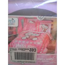 Juego De Edrodon Individual Hello Kitty
