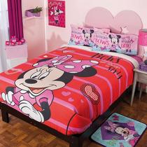 Cobertores Fleece C/borrega, Minnie, Princesita Sofía,