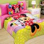 Cobertor Matrimonial Providencia Minnie Fashion Borrega