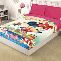 Cobertor Ligero Infantil Niños Matrimonial Disney Frozen Toy