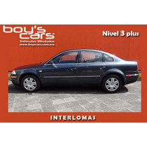 Vw Passat V6 4motion 2002, Blindado Nivel 3 Plus