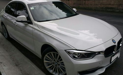 Bmw 328i Luxury 2012 35,100 Km Unico Dueño Blanco Impecable