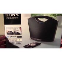 Bocinas Sony Con Bluetooth Y Nfc En Color Negro Potatil