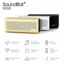Bocina Bluetooth Soundbot 573 C/batería Recargable Metalica