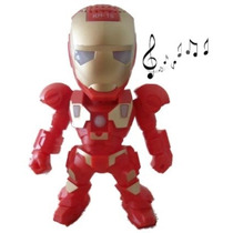 Bocina Iron Man Usb Mp3 Sd Radio Portatil Recargable Ironman