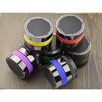 Mini-bocina Portátil Metalica Bluetooth Usb Mp3 Microsd Rec