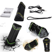 Bocina Bluetooth Earson A Prueba De Agua Y Golpes Recargable
