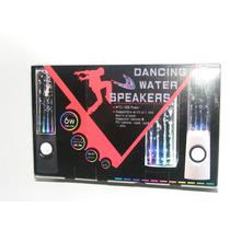 Nueva Bocinas Danzantes De Agua Con Luz Led De Colores