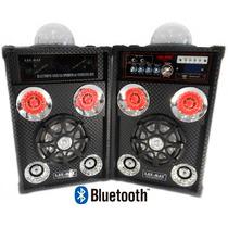 Bocinas Karaoke Equalizador Radio Fm Bluetooth Aux Li-sp11