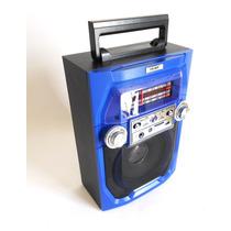 Bocina Portatil Karaoke Radio Am Fm Mp3 Recargable Li-s462