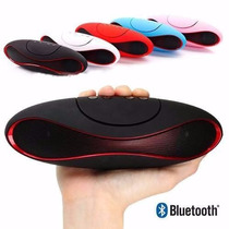 Bocina Bluetooth Recargable Con Voz Usb Mini Sd Portatil Mp3