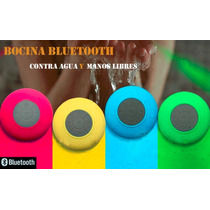 Bocina Bluetooth Manos Libres Mini Contra Agua Recargable