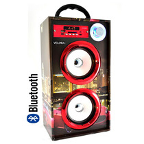 Bocina Portatil De Lujo Recargable 2029 Aux Usb Mp3 Carro
