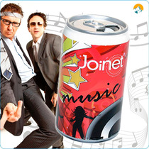 Reproductor Mp3 Joinet Forma De Lata De Refresco, Radio Fm,
