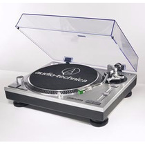 Tornamesa Audio-technica At-lp120 Usb Profesional Plata Dj