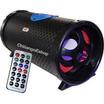 Bazooka Amplificada 5 Pulg Control Remoto Usb Mp3