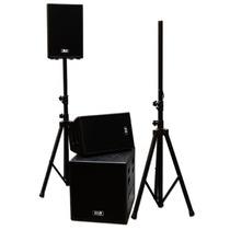 Sistema Profesional De Audio 12000 W Reales Usb Y Sd Xaris